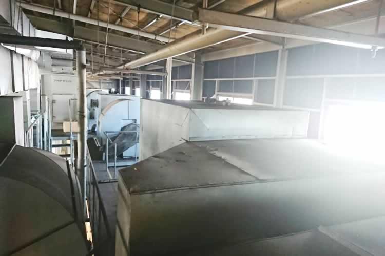 焼付け・乾燥乾燥炉35m