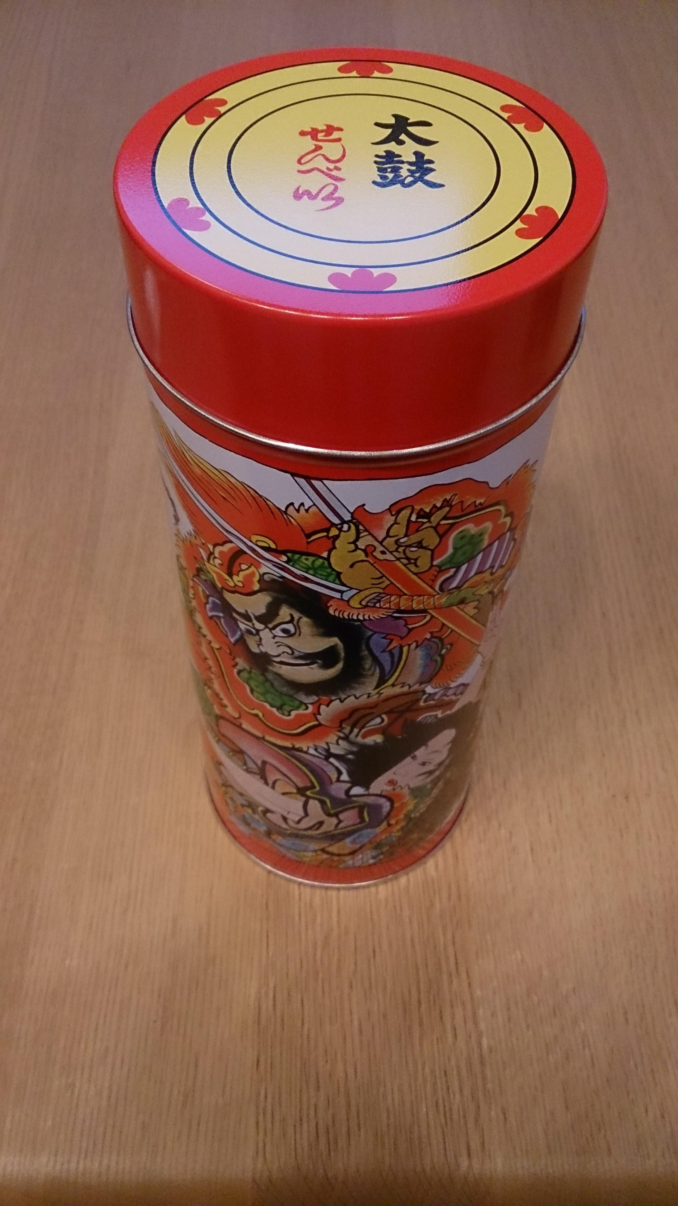 津軽せんべい(津軽缶)